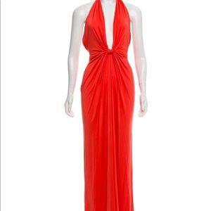 Issa Halterneck maxi dress
